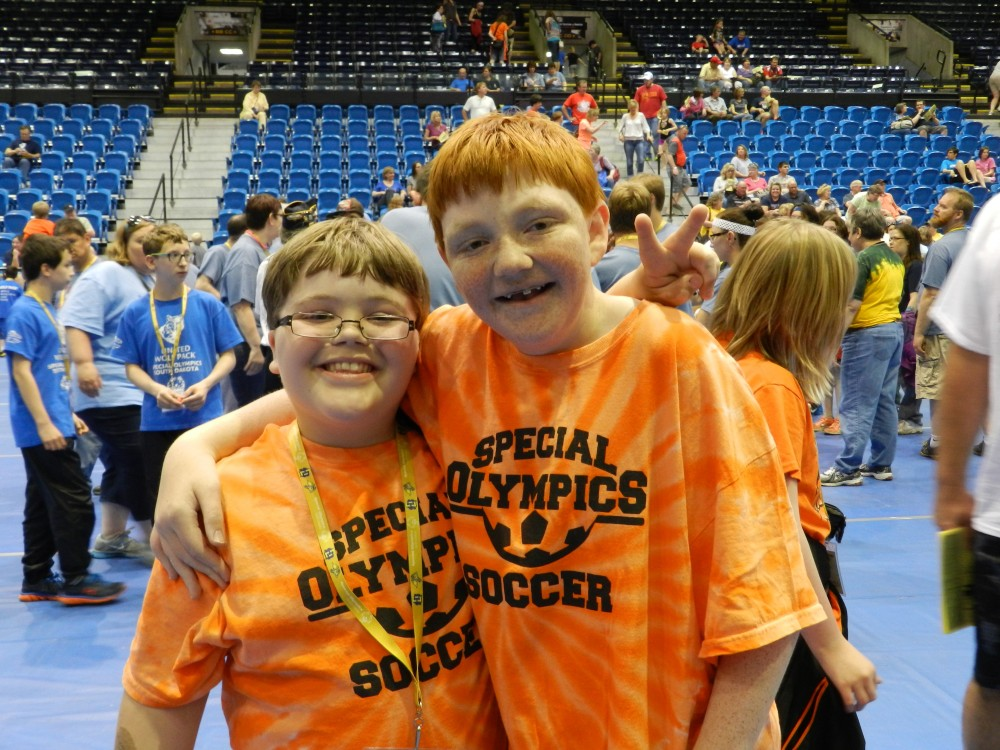 Special Olympics Athletes, South Dakota